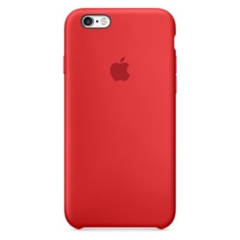 Apple iPhone 6 / 6S Silicone Case, красный