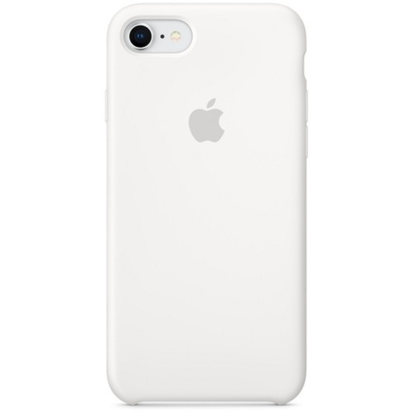 Apple iPhone 7/8 Silicone Case, белый
