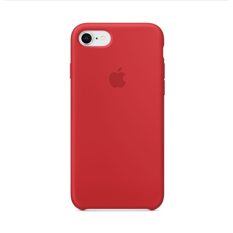 Apple iPhone 7/8 Silicone Case, «(PRODUCT)RED»